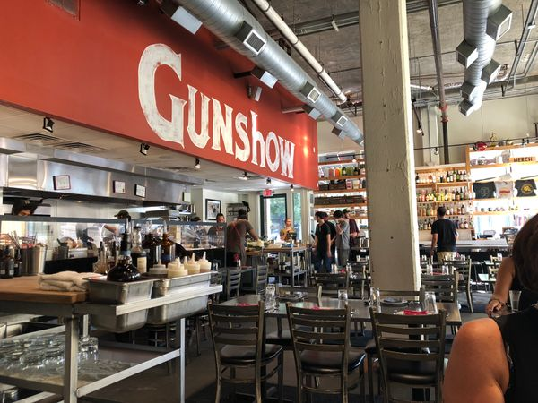 "The awe-inspiring experience of eating at Atlanta's ""Gunshow"""